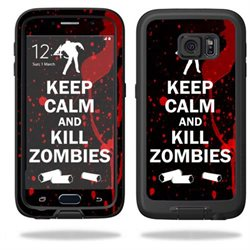 MightySkins Protective Vinyl Skin Decal for LifeProof Samsung Galaxy S6 Case fre wrap cover sticker skins Kill Zombies