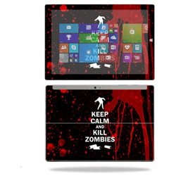 MightySkins Protective Vinyl Skin Decal for Microsoft Surface 3 Tablet 10.8 screen wrap cover sticker skins Kill Zombies