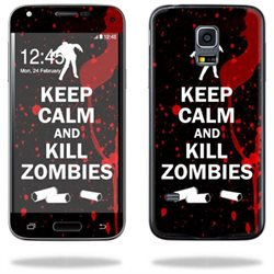 Mightyskins Protective Vinyl Skin Decal Cover for Samsung Galaxy S5 Mini Cover wrap sticker skins Kill Zombies