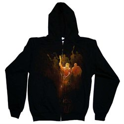 Resident Evil 5 Majini Swarm Africa Capcom Video Game Zip Hoodie Sweatshirt - S