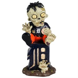 Detroit Tigers Zombie Figurine - On Logo-(Package of 2)