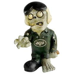 New York Jets Thematic Zombie Figurine-(Package of 2)