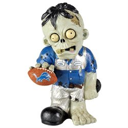 Detroit Lions Thematic Zombie Figurine-(Package of 2)