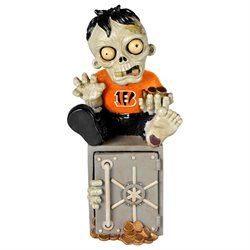 Cincinnati Bengals Zombie Figurine Bank-(Package of 2)
