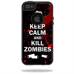Mightyskins Protective Vinyl Skin Decal Cover for OtterBox Commuter iPhone 5/5s/SE Case wrap sticker skins Kill Zombies