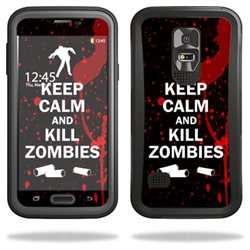 Mightyskins Protective Vinyl Skin Decal Cover for OtterBox Preserver Samsung Galaxy S5 Case wrap sticker skins Kill Zombies