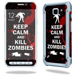MightySkins Protective Vinyl Skin Decal for Samsung Galaxy S6 Active wrap cover sticker skins Kill Zombies