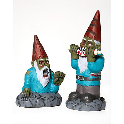 Mini Zombie Gnomes - Decorations
