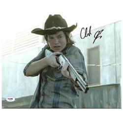Chandler Riggs The Walking Dead Authentic Signed 11X14 Photo PSA/DNA #Z89183