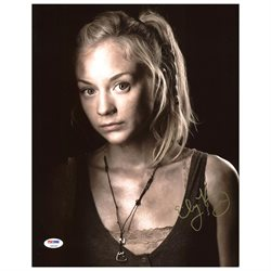 Emily Kinney The Walking Dead Authentic Signed 11X14 Photo PSA/DNA #Z90249