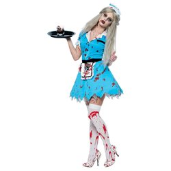 Bloody Service Sexy Costume - Zombie Costumes