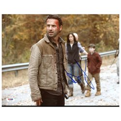Andrew Lincoln The Walking Dead Authentic Signed 11X14 Photo PSA/DNA #T62544